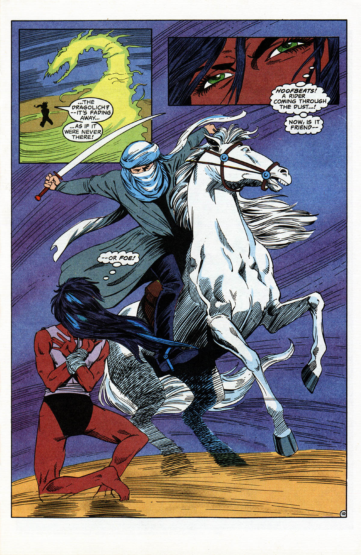 Read online Advanced Dungeons & Dragons comic -  Issue #13 - 12