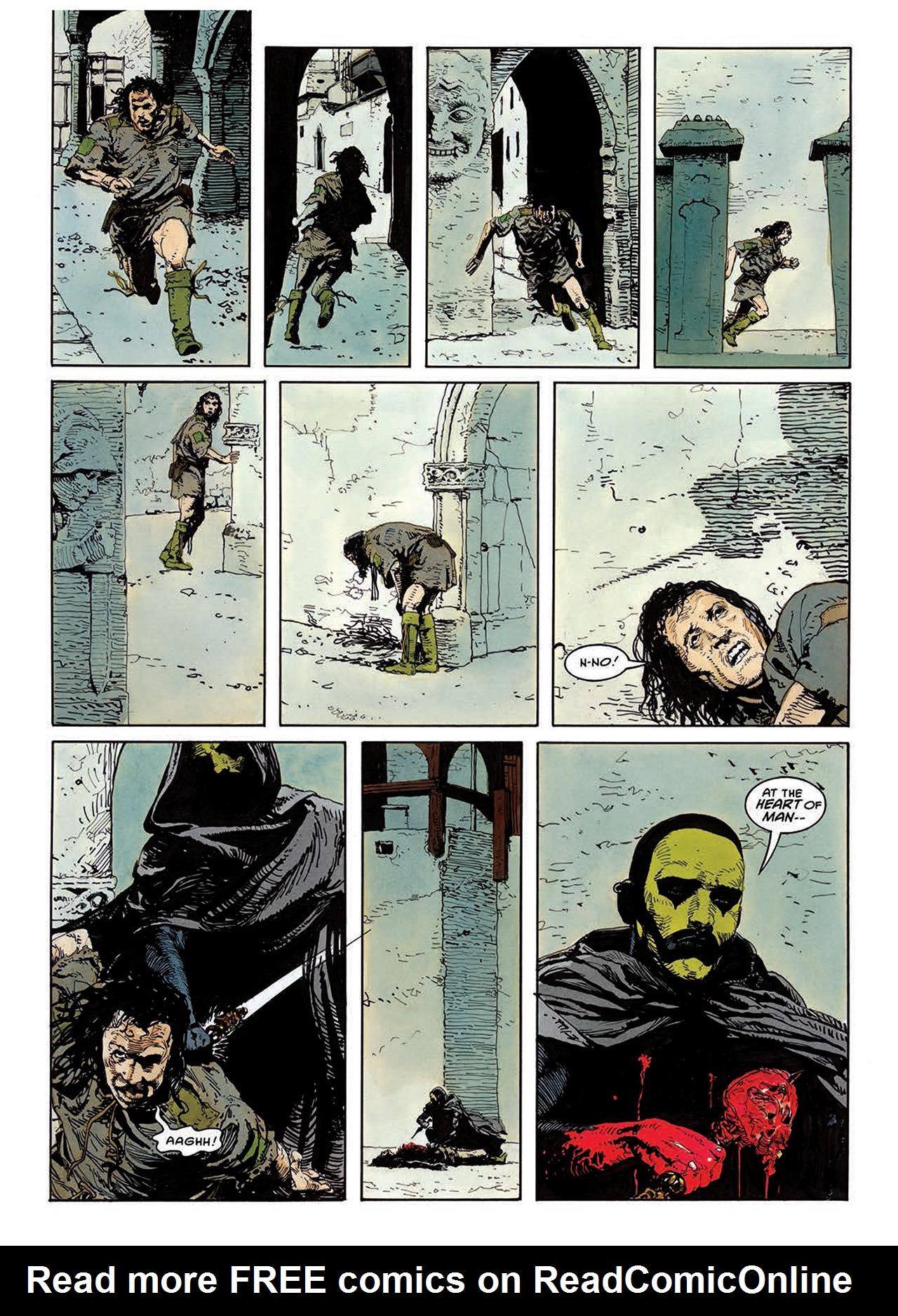 Read online Mazeworld comic -  Issue # TPB - 66