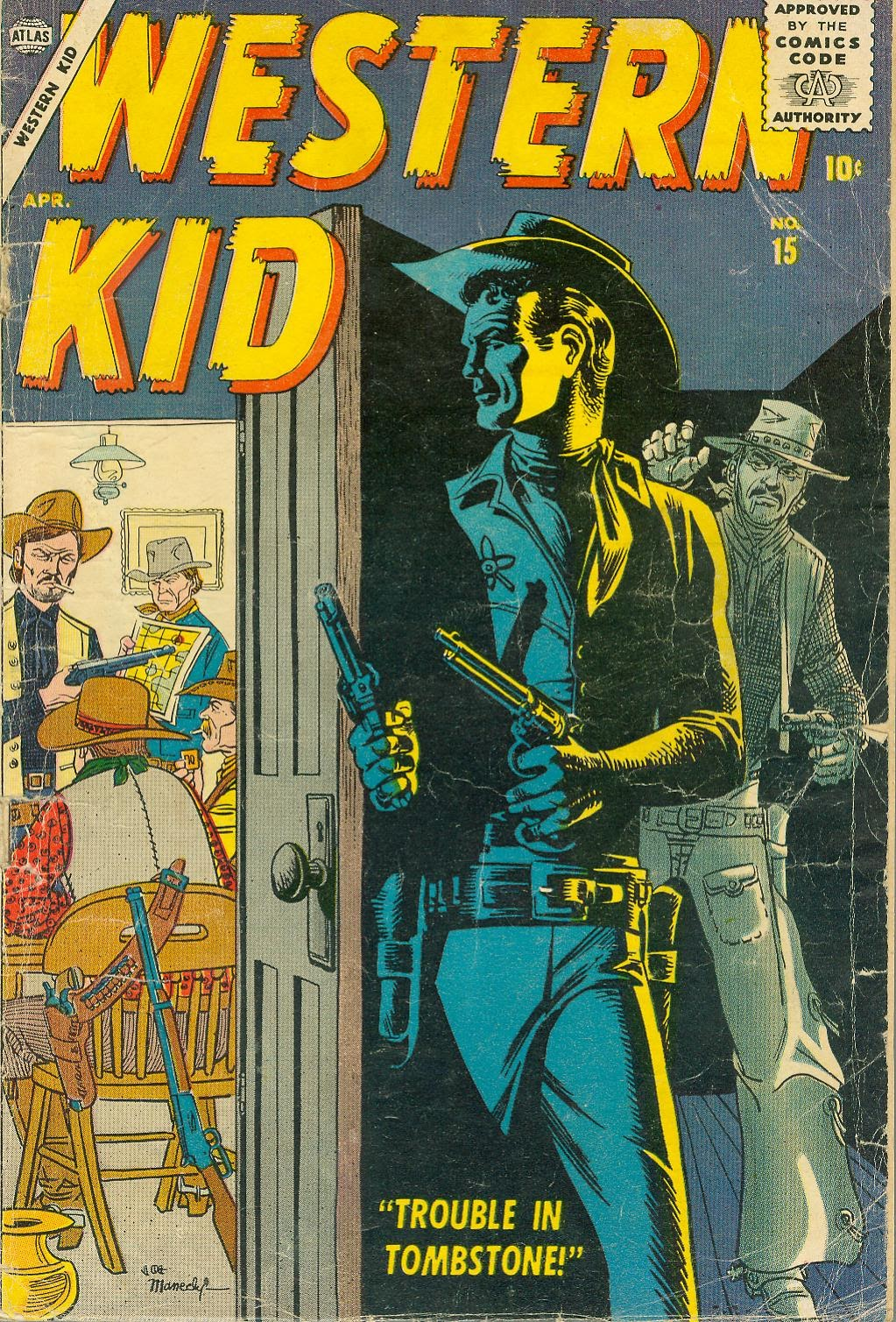 Western Kid 15 Page 1