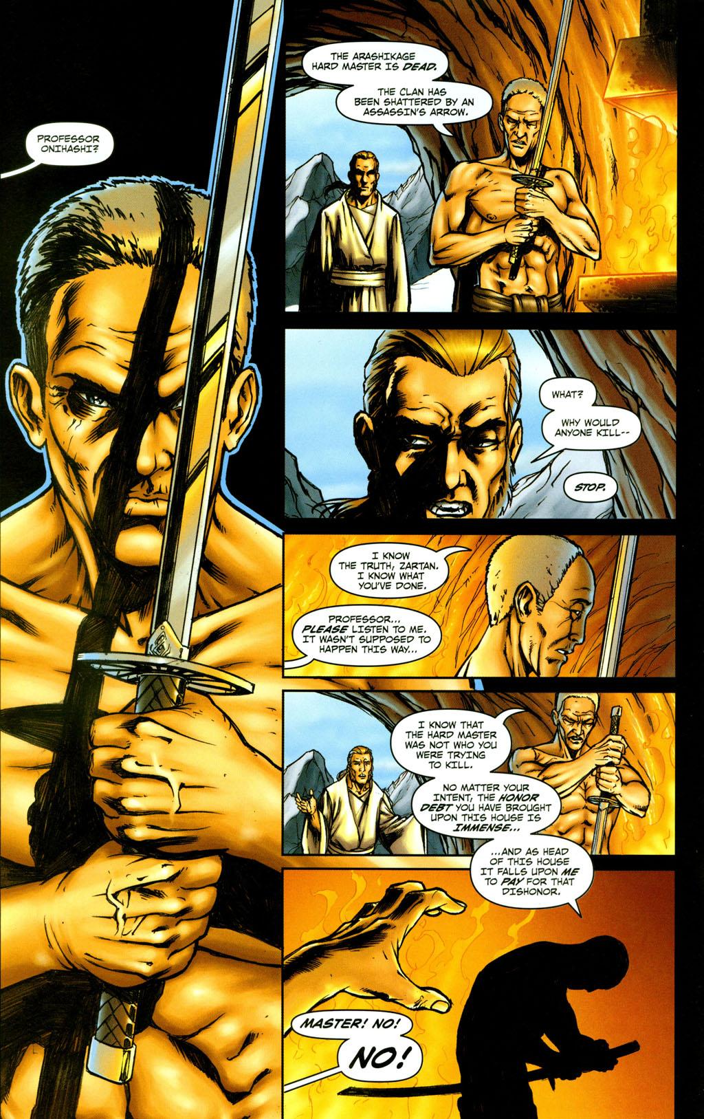 Read online Snake Eyes: Declassified comic -  Issue #5 - 14