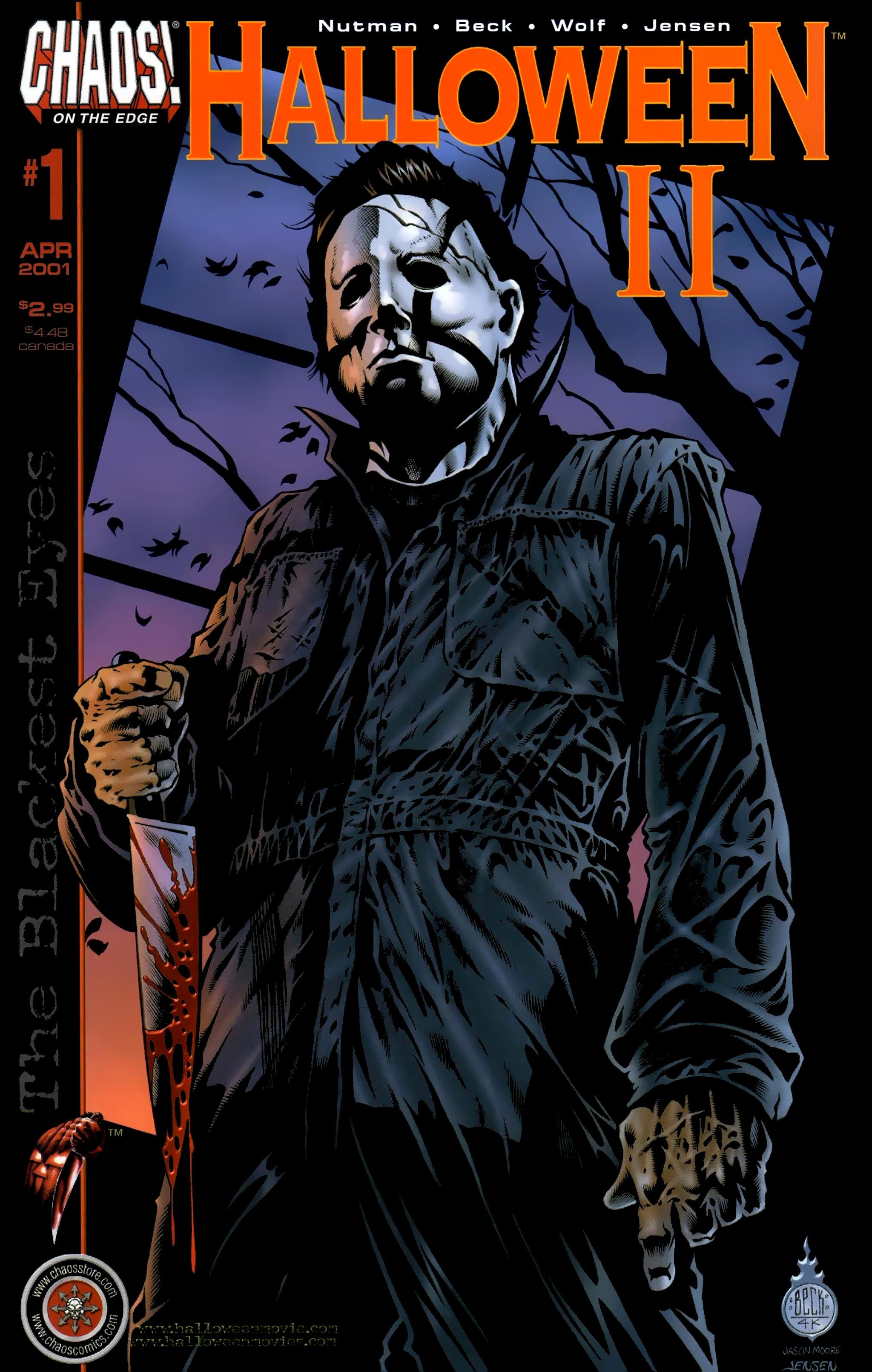 Read online Halloween II: The Blackest Eyes comic -  Issue # Full - 1