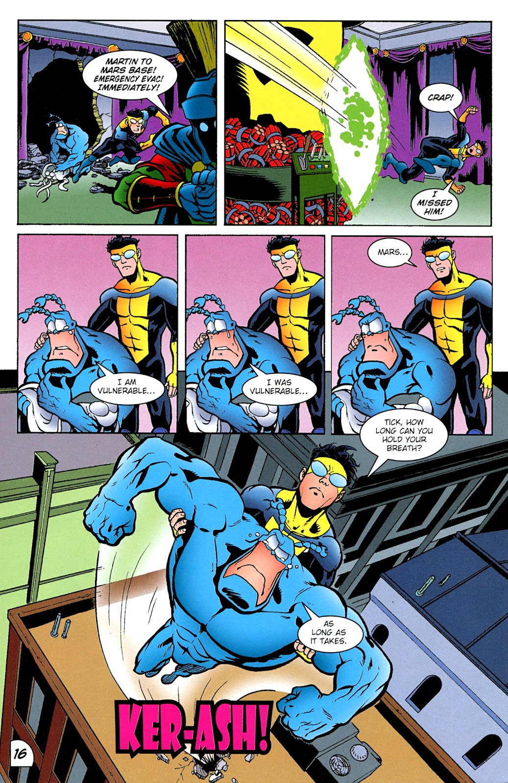 Read online The Tick comic -  Issue #100 - 17