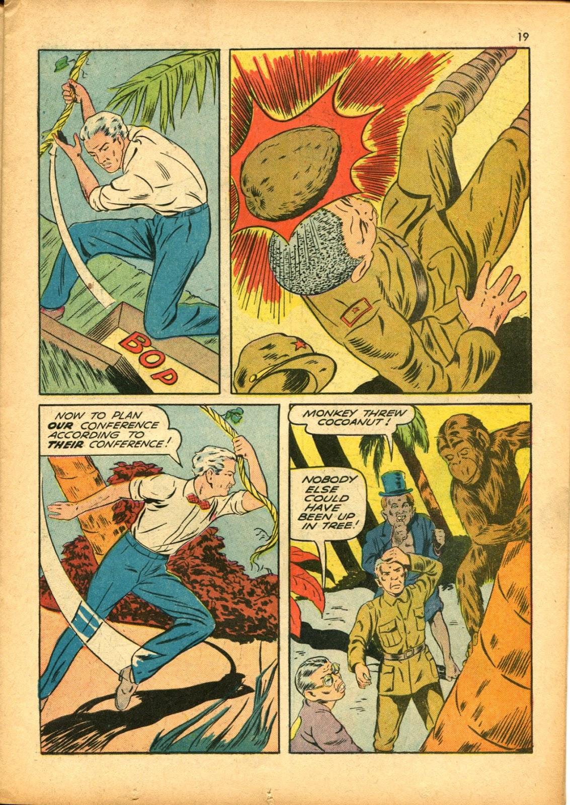 Read online Super-Magician Comics comic -  Issue #15 - 19