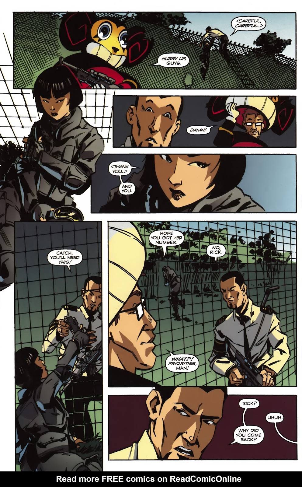 Read online Ricky Rouse Has A Gun comic -  Issue # TPB (Part 2) - 5