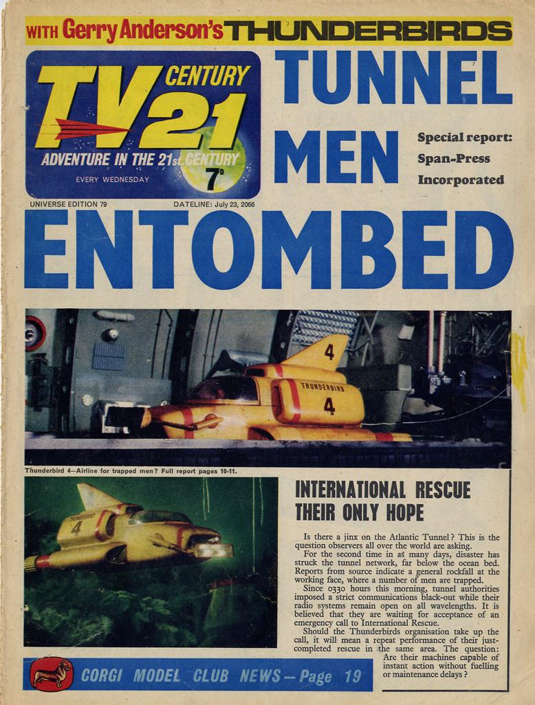 TV Century 21 (TV 21) issue 79 - Page 1