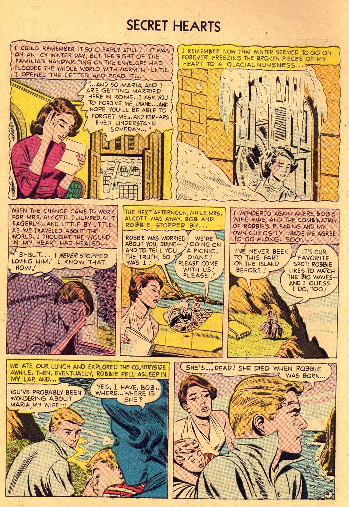 Read online Secret Hearts comic -  Issue #36 - 6