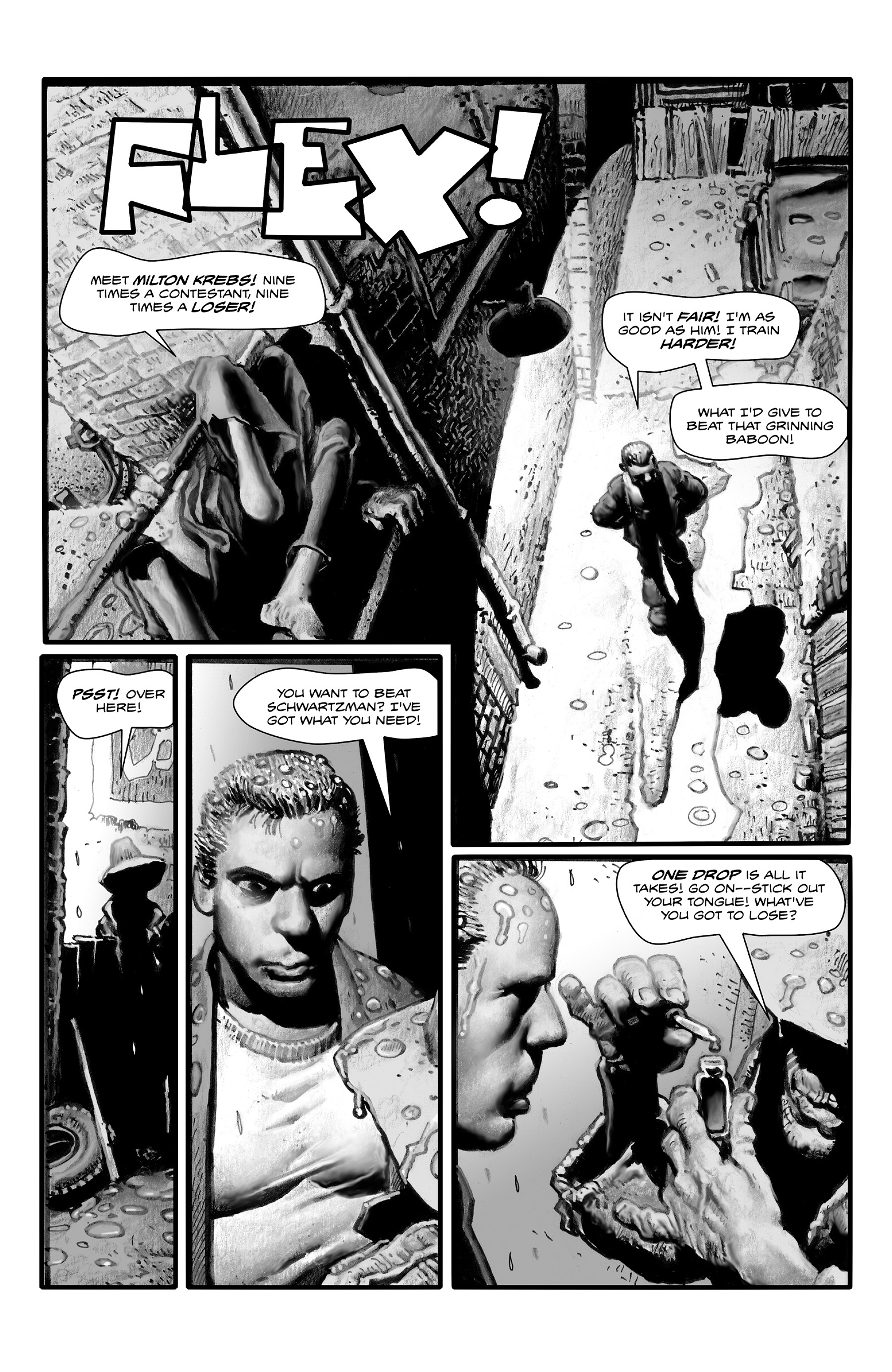 Read online Shadows on the Grave comic -  Issue #4 - 12