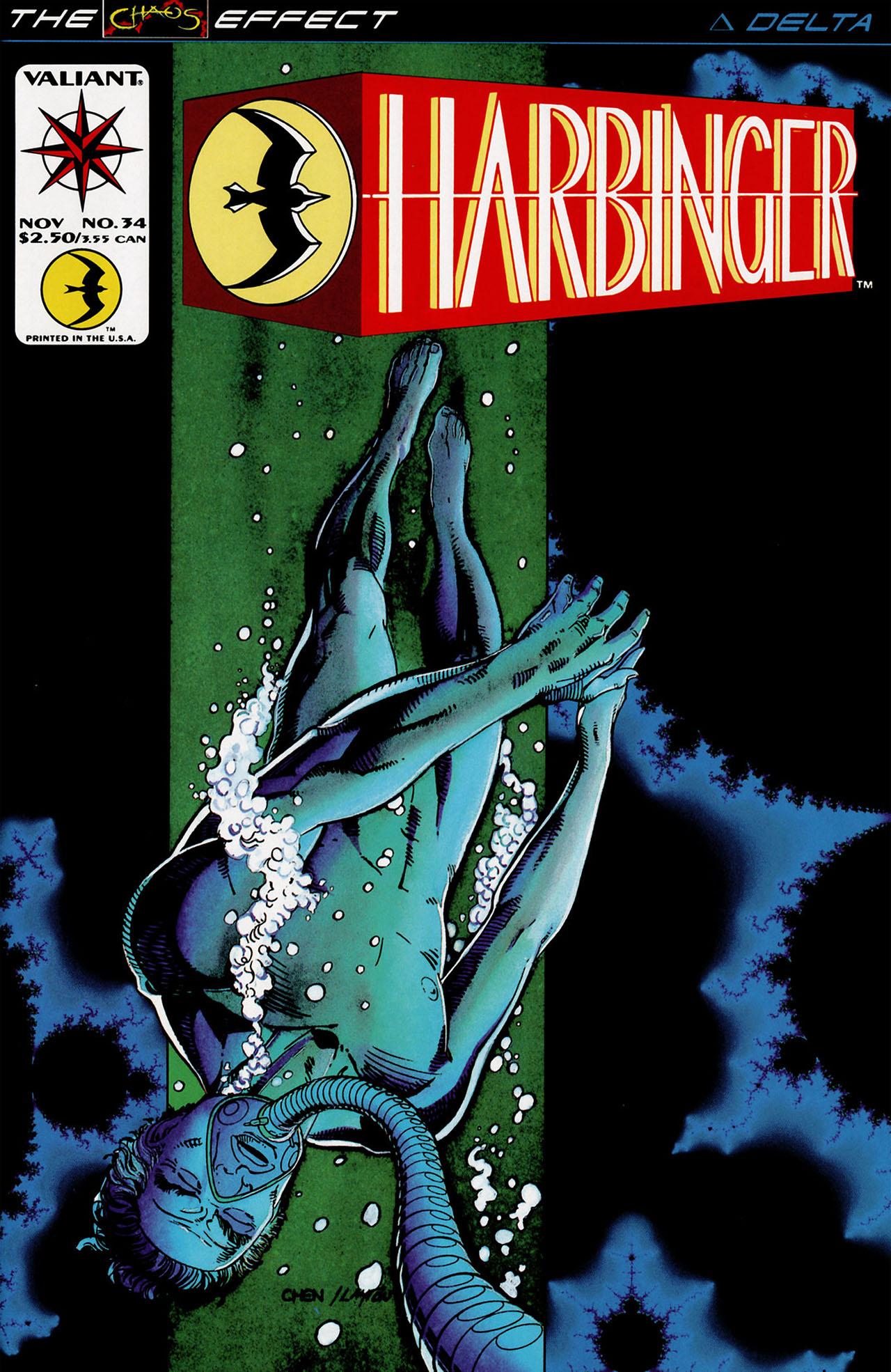 Read online Harbinger (1992) comic -  Issue #34 - 1