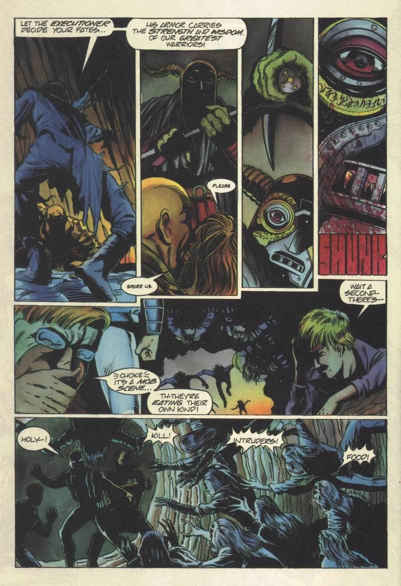 Read online Secret Weapons comic -  Issue #6 - 17