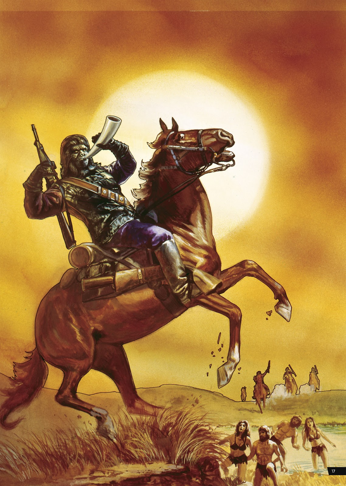 Read online Planet of the Apes Artist Tribute comic -  Issue # TPB - 17