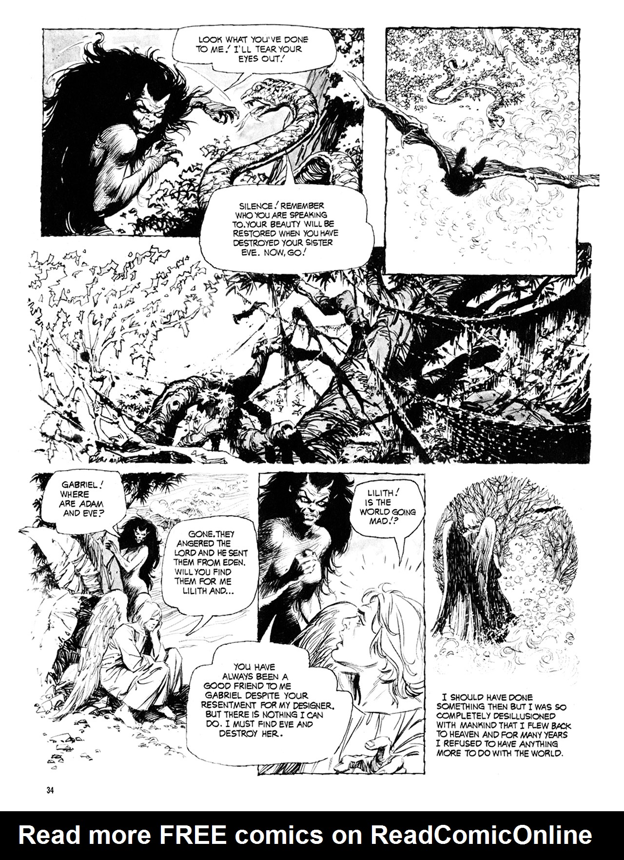 Read online Eerie Archives comic -  Issue # TPB 10 - 35