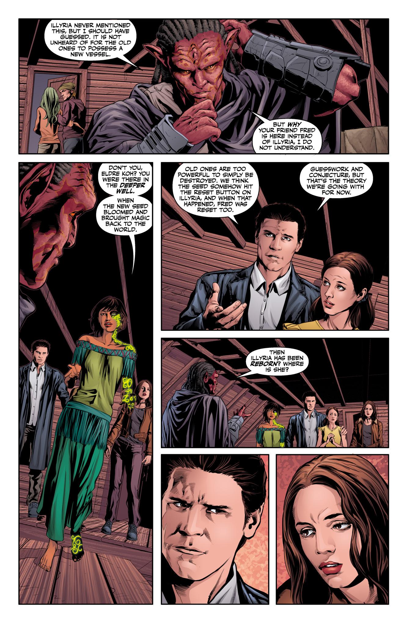 Read online Angel & Faith Season 10 comic -  Issue #12 - 4
