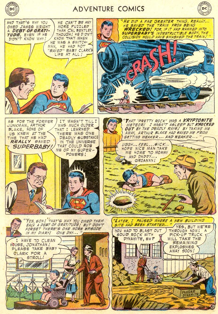 Read online Adventure Comics (1938) comic -  Issue #231 - 13