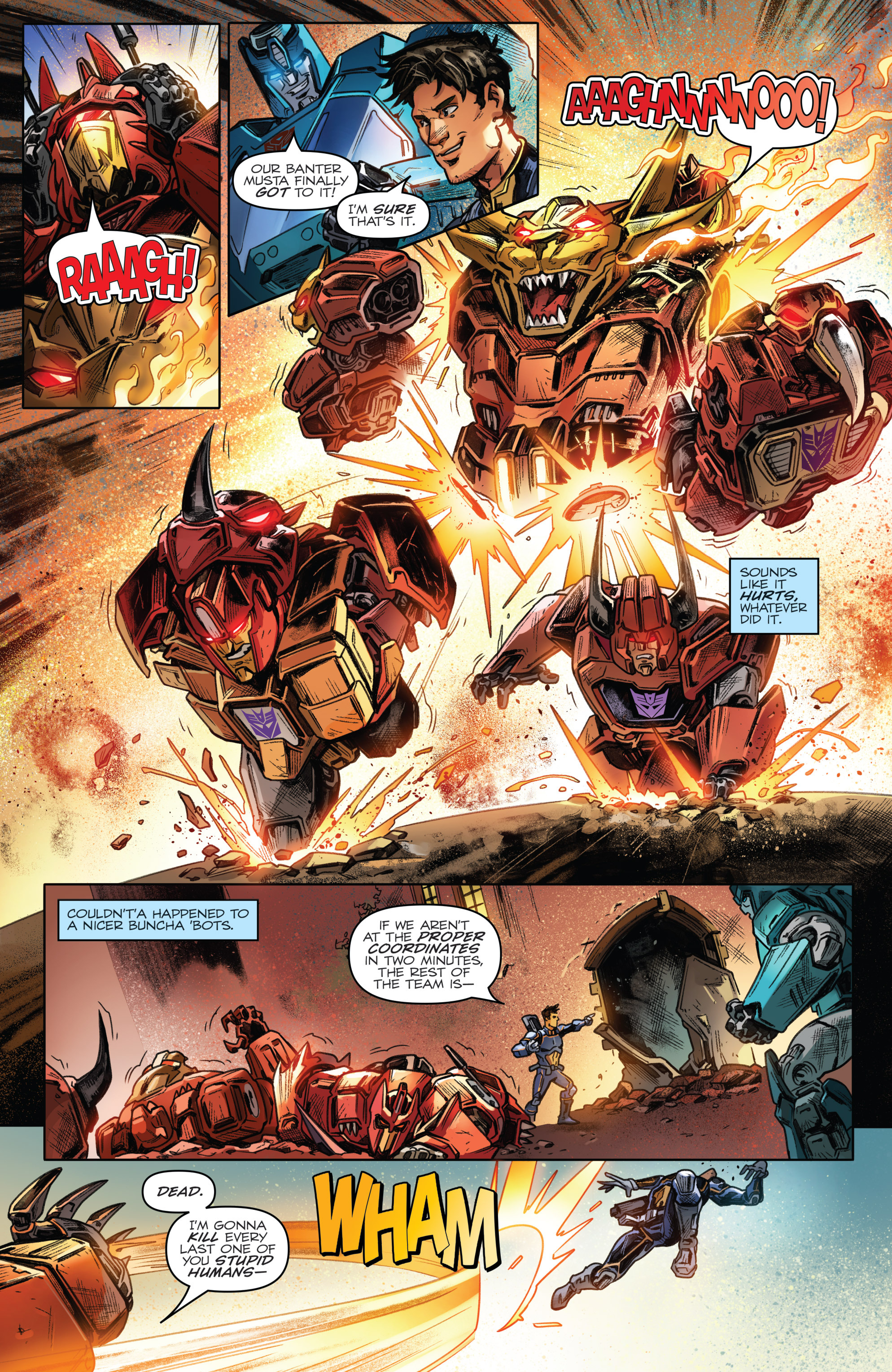Read online Revolutionaries comic -  Issue #4 - 20