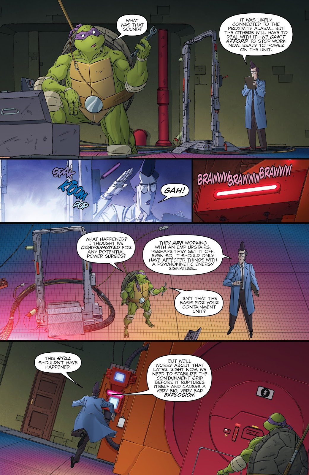 Read online Teenage Mutant Ninja Turtles: The IDW Collection comic -  Issue # TPB 5 (Part 3) - 49