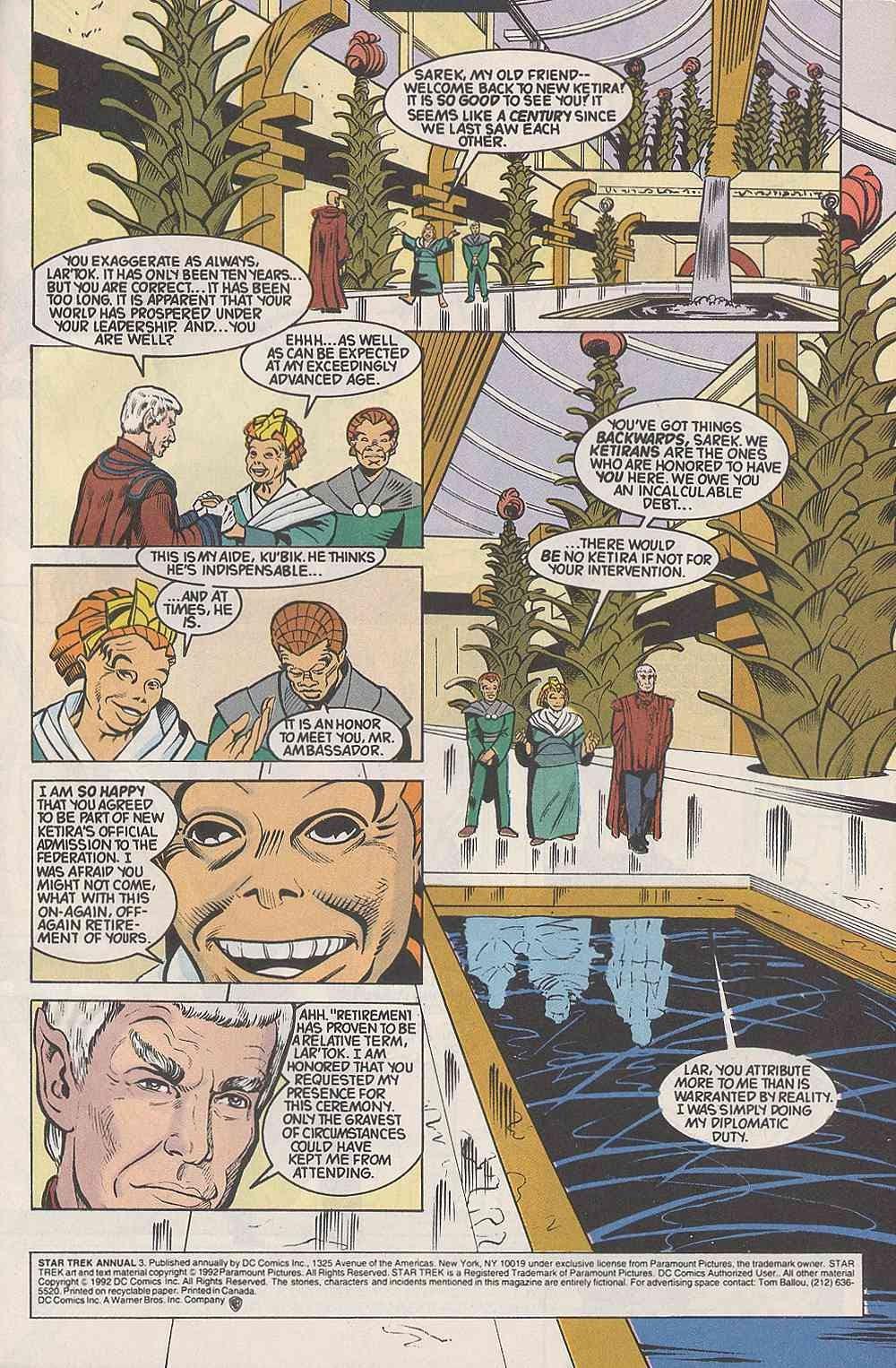 Read online Star Trek (1989) comic -  Issue # Annual 3 - 3