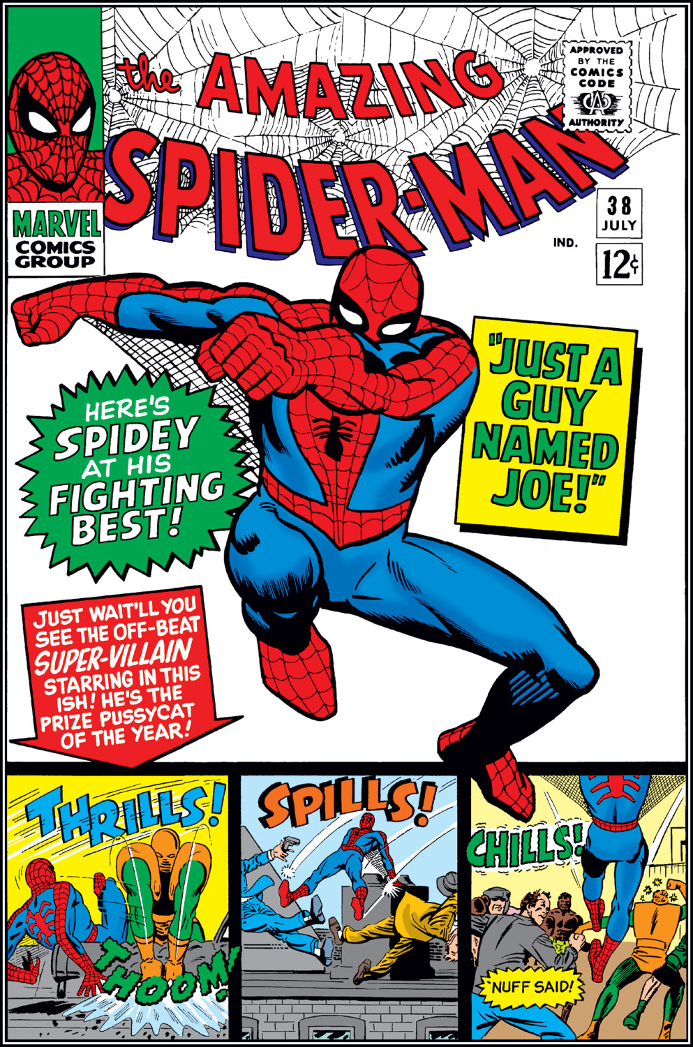 The Amazing Spider-Man (1963) 38 Page 0