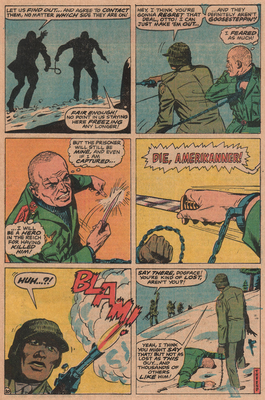 Read online Sgt. Fury comic -  Issue #90 - 29