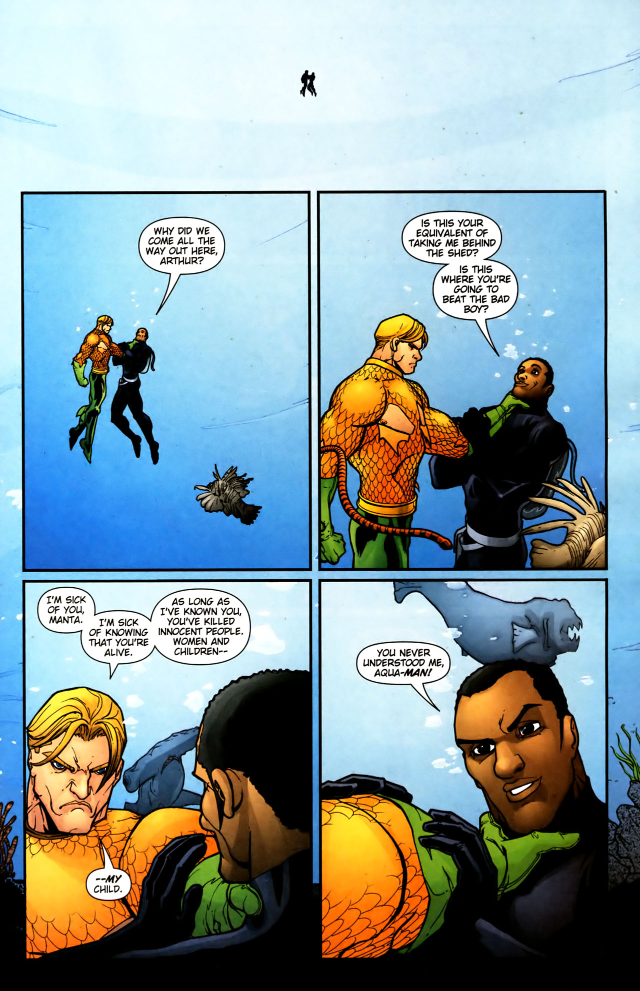 Read online Aquaman (2003) comic -  Issue #39 - 20