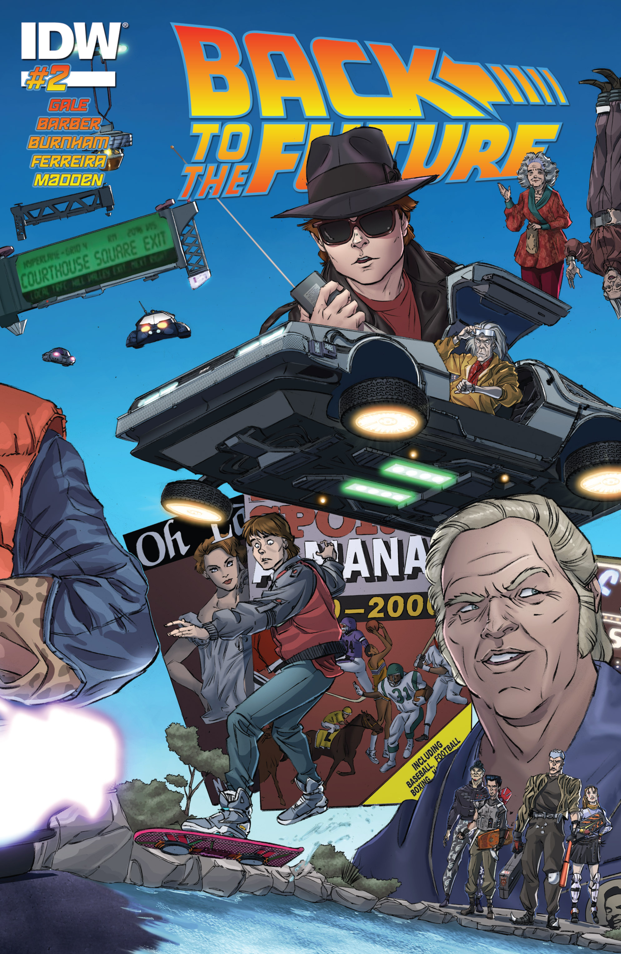 Back to the Future (2015) 2 Page 1