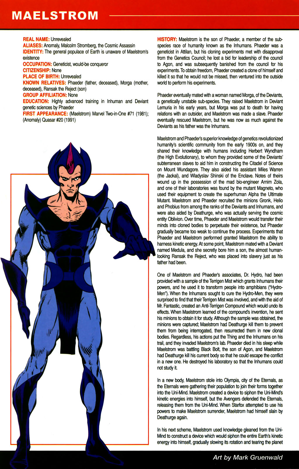 Read online All-New Official Handbook of the Marvel Universe A to Z comic -  Issue #6 - 56