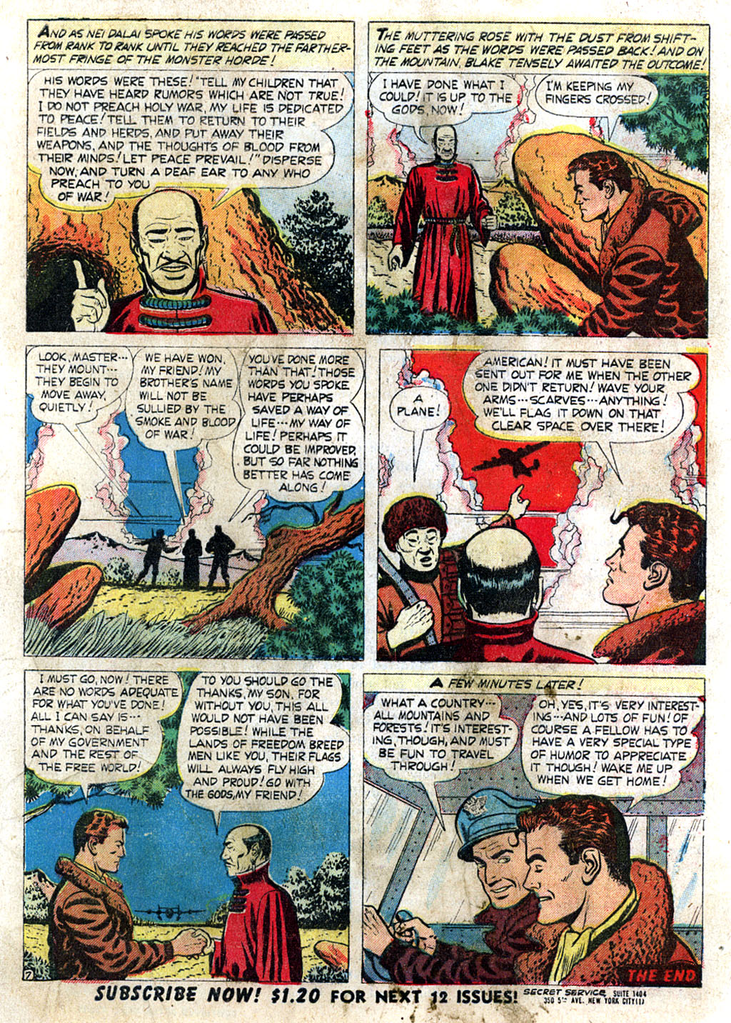 Kent Blake of the Secret Service issue 3 - Page 9