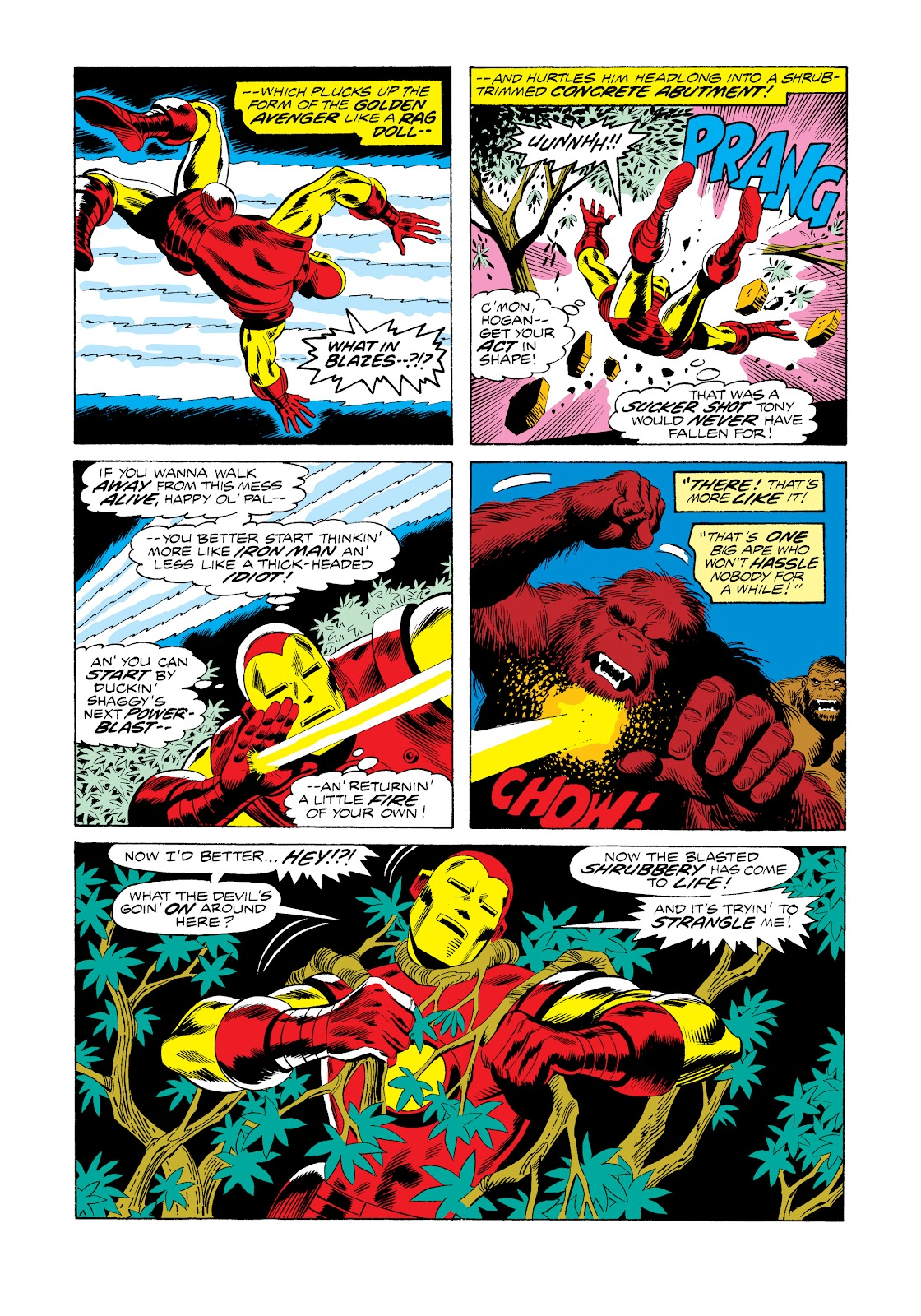 Read online Marvel Masterworks: The Invincible Iron Man comic -  Issue # TPB 11 (Part 1) - 22