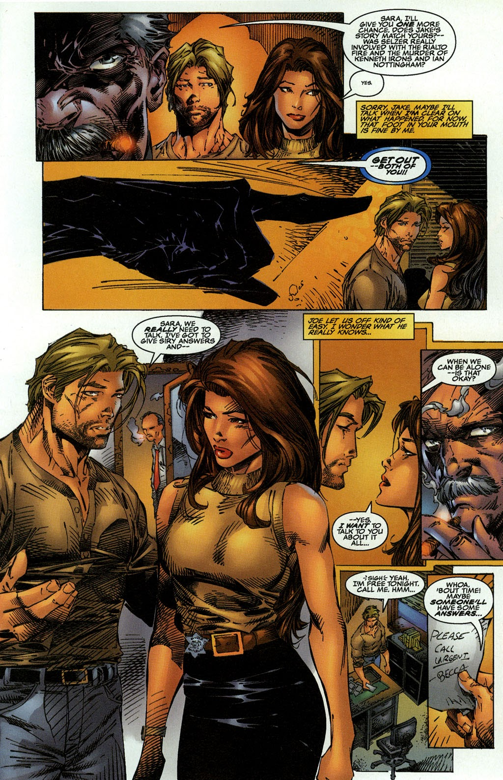 Read online The Darkness (1996) comic -  Issue #0 - 10