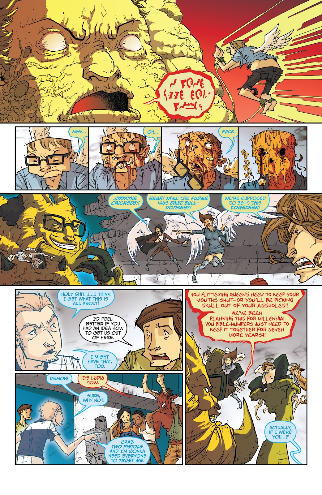 Read online The End Times of Bram and Ben comic -  Issue #4 - 22