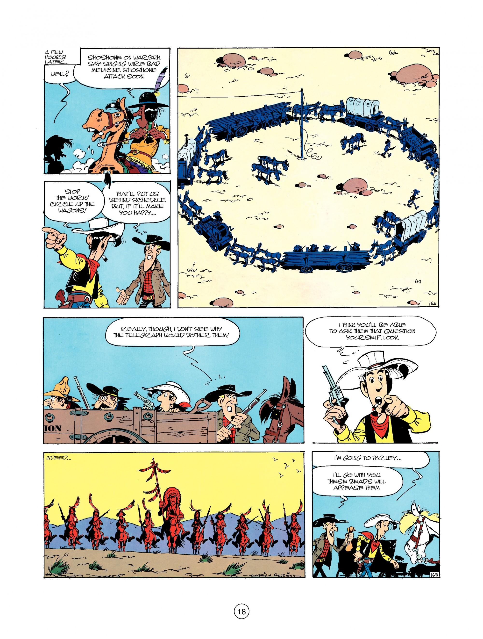 Read online A Lucky Luke Adventure comic -  Issue #35 - 18