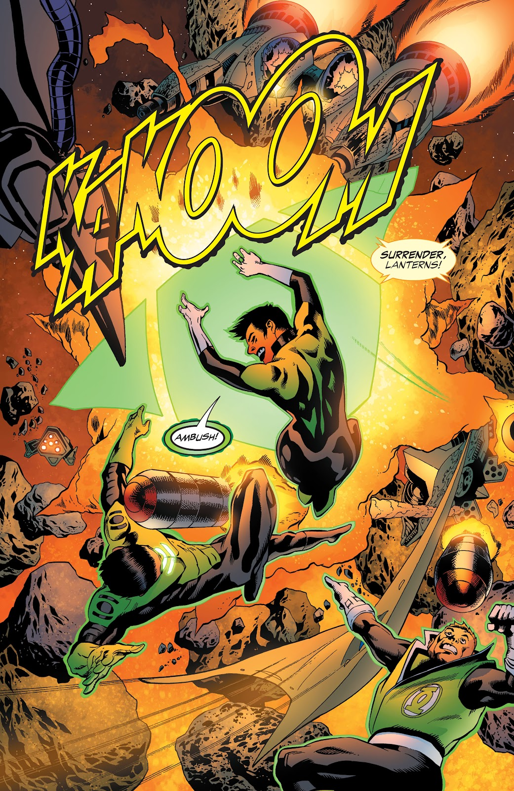Read online Green Lantern by Geoff Johns comic -  Issue # TPB 1 (Part 3) - 46