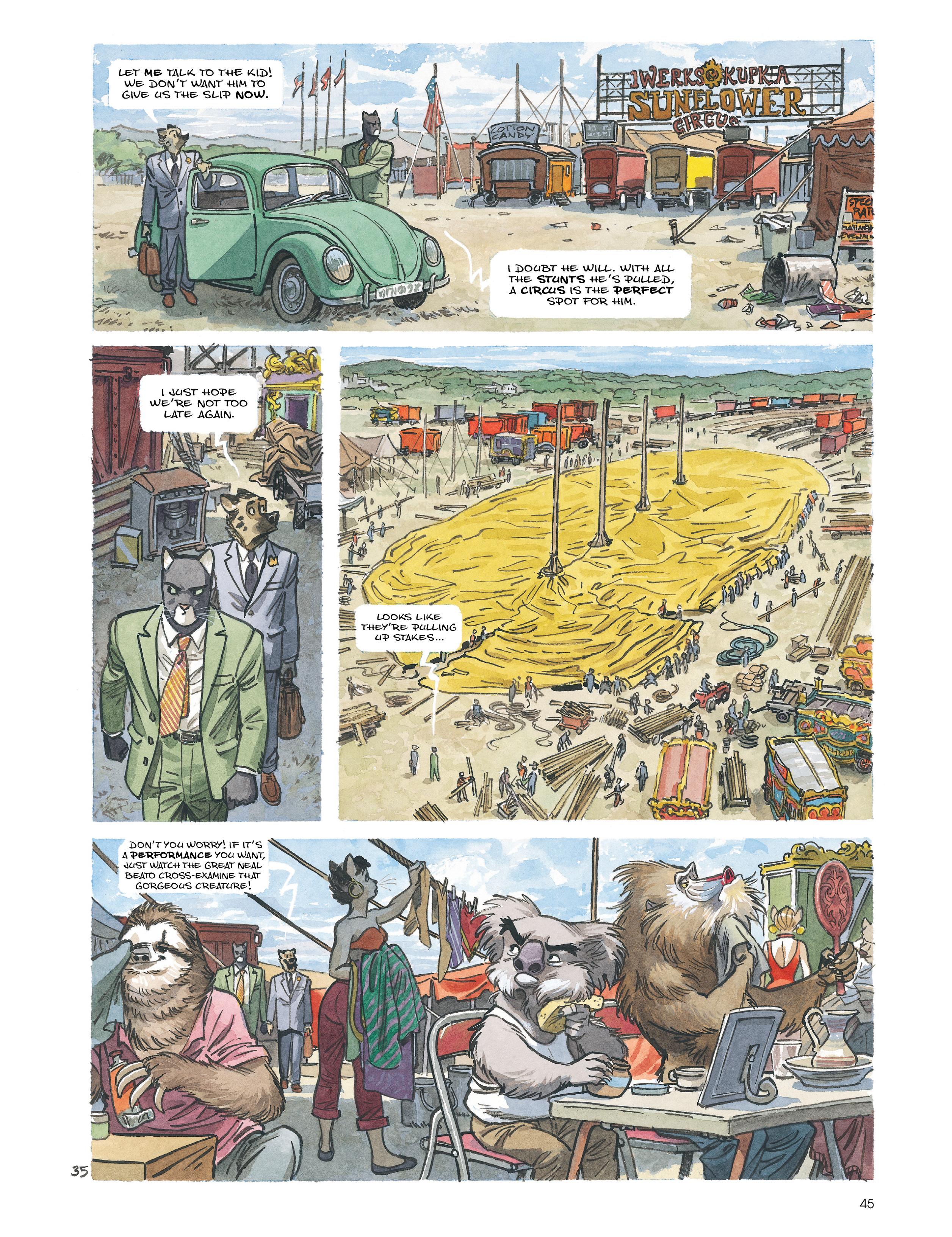 Read online Blacksad: Amarillo comic -  Issue # Full - 44