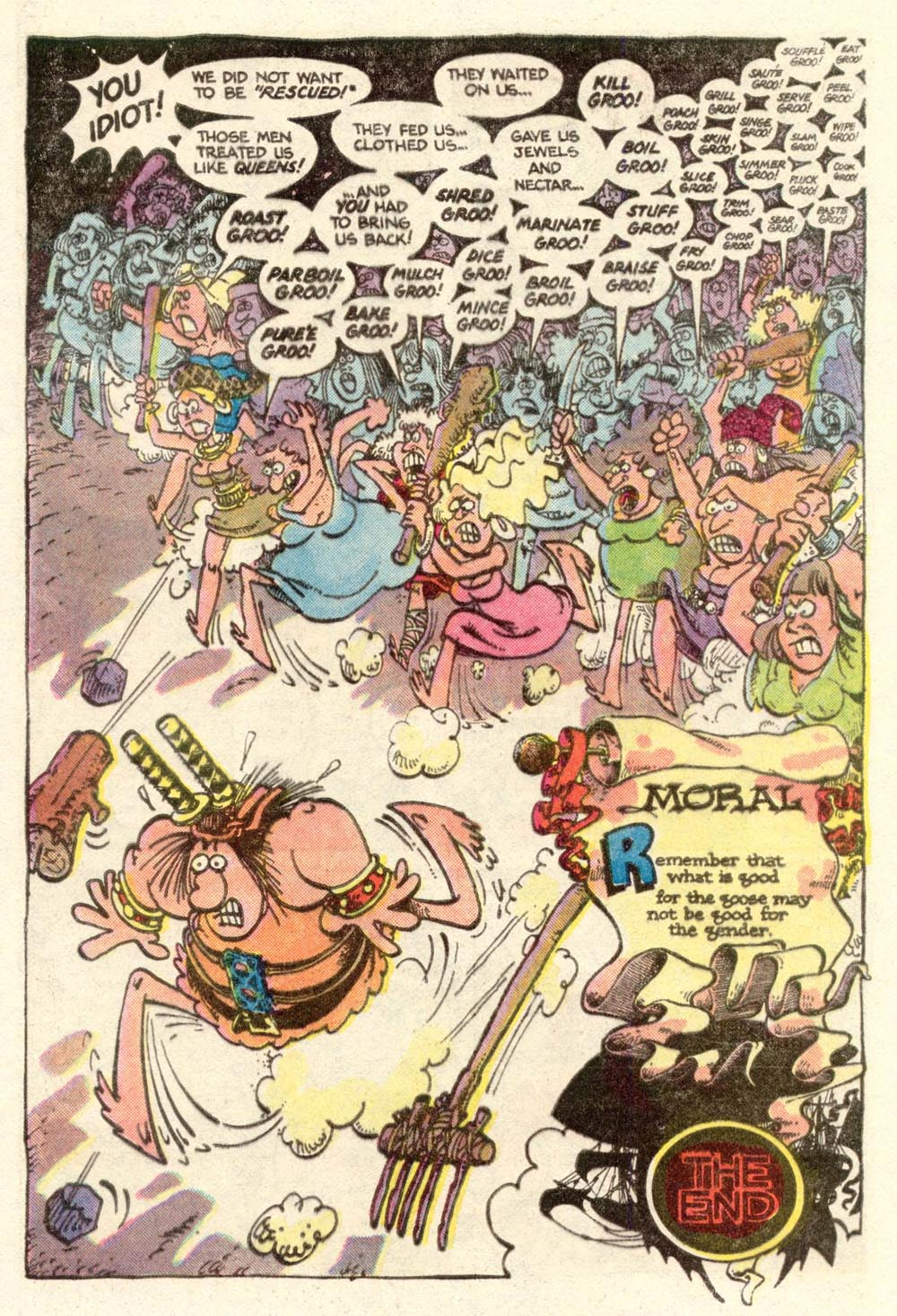 Read online Sergio Aragonés Groo the Wanderer comic -  Issue #4 - 23