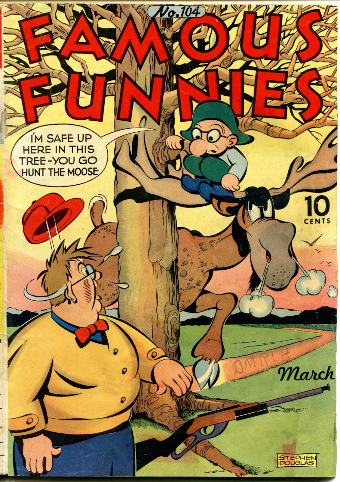 Read online Famous Funnies comic -  Issue #104 - 1