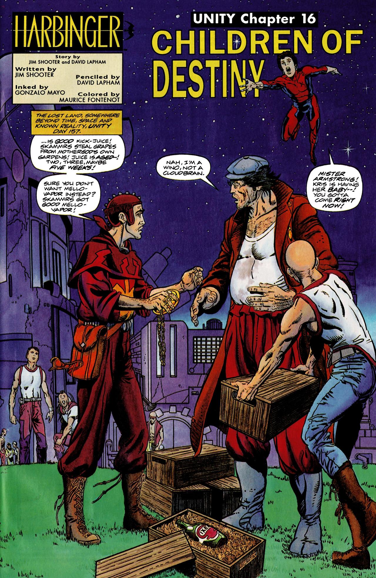 Read online Harbinger (1992) comic -  Issue #9 - 2