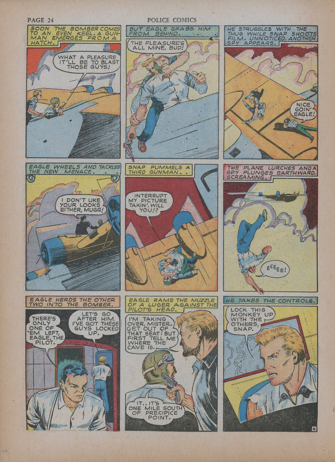 Police Comics issue 5 - Page 28