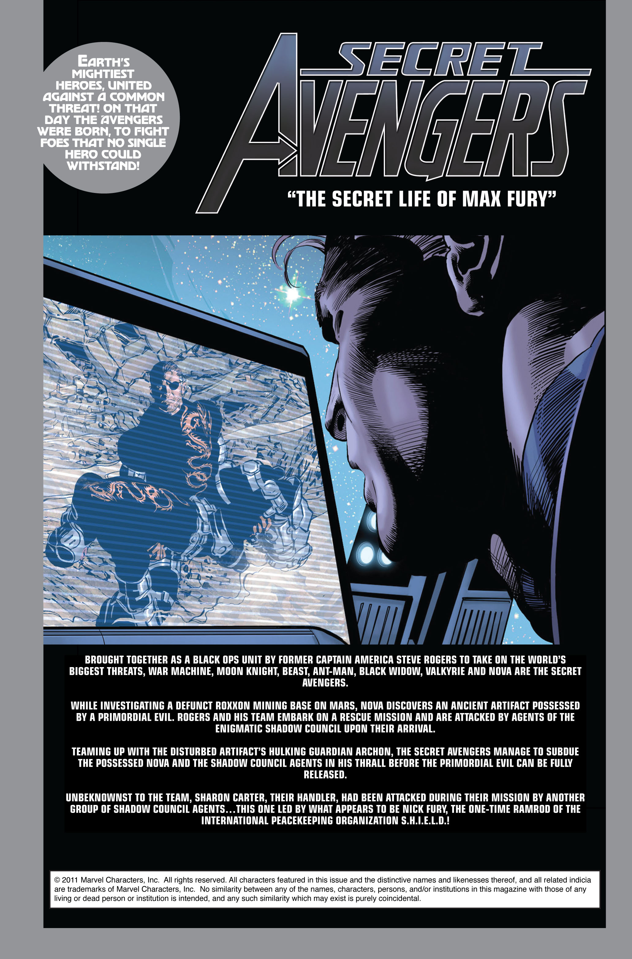 Read online Secret Avengers (2010) comic -  Issue #5 - 2