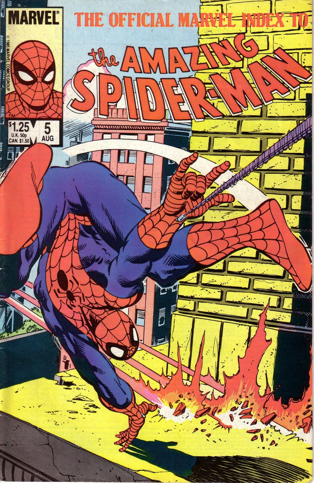 The Official Marvel Index to The Amazing Spider-Man 5 Page 1