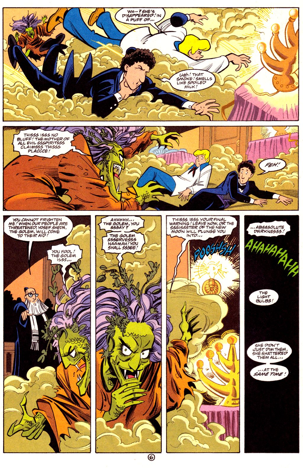 Read online Scooby-Doo (1997) comic -  Issue #3 - 6