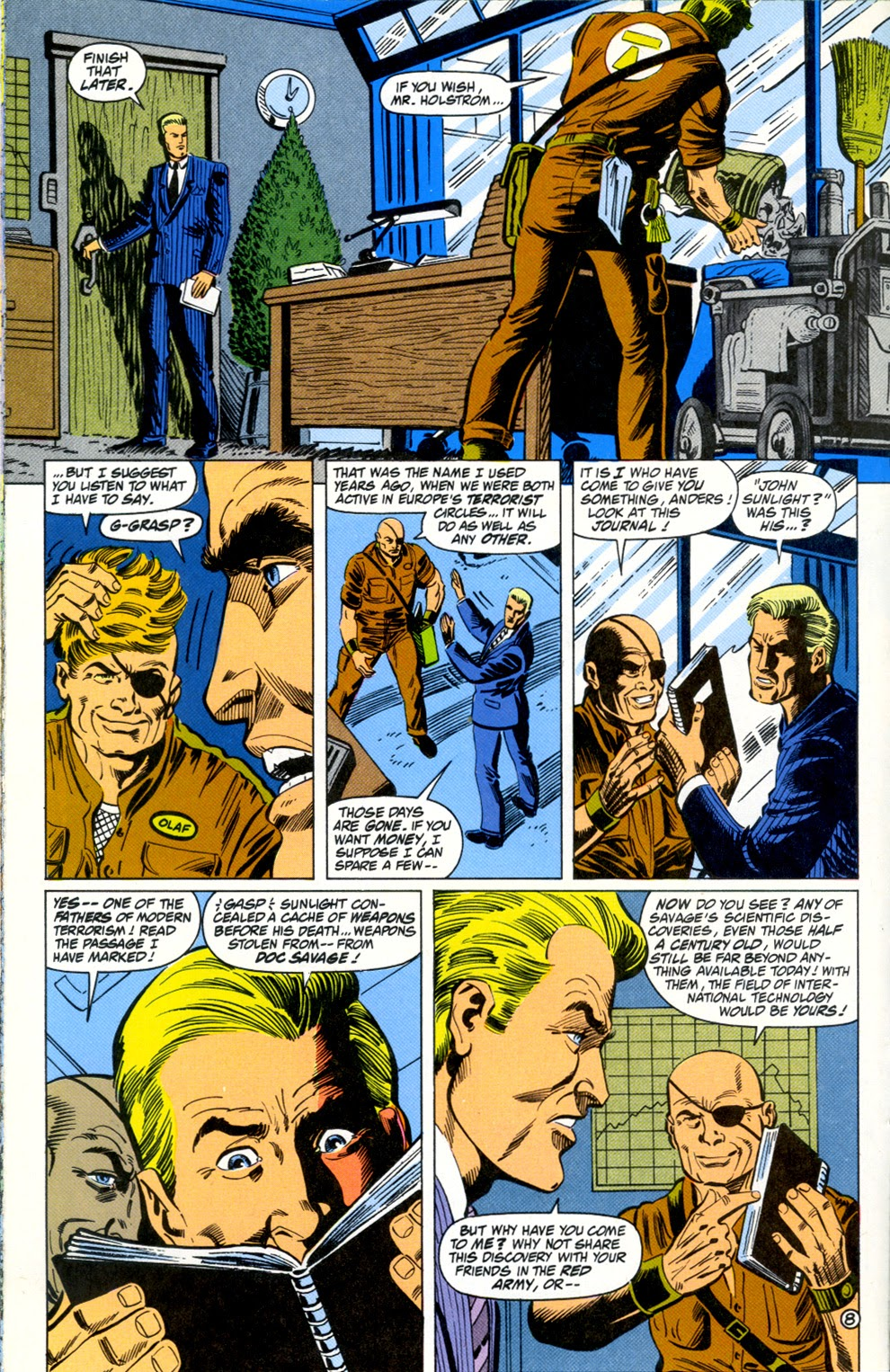 Doc Savage (1988) issue 11 - Page 10