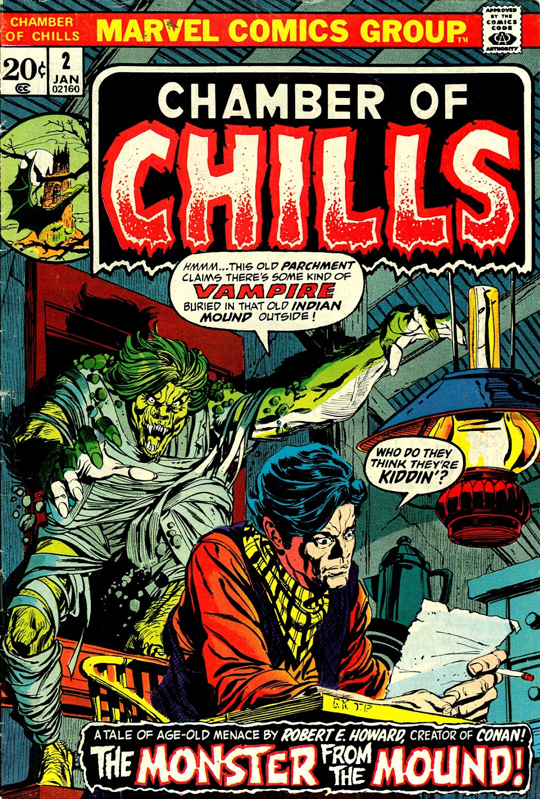 Chamber of Chills (1972) issue 2 - Page 1