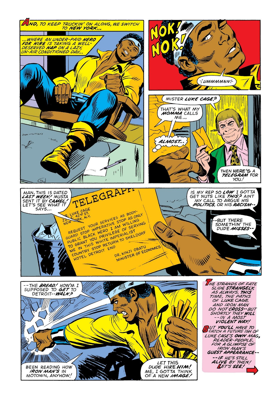 Read online Marvel Masterworks: The Invincible Iron Man comic -  Issue # TPB 9 (Part 3) - 41