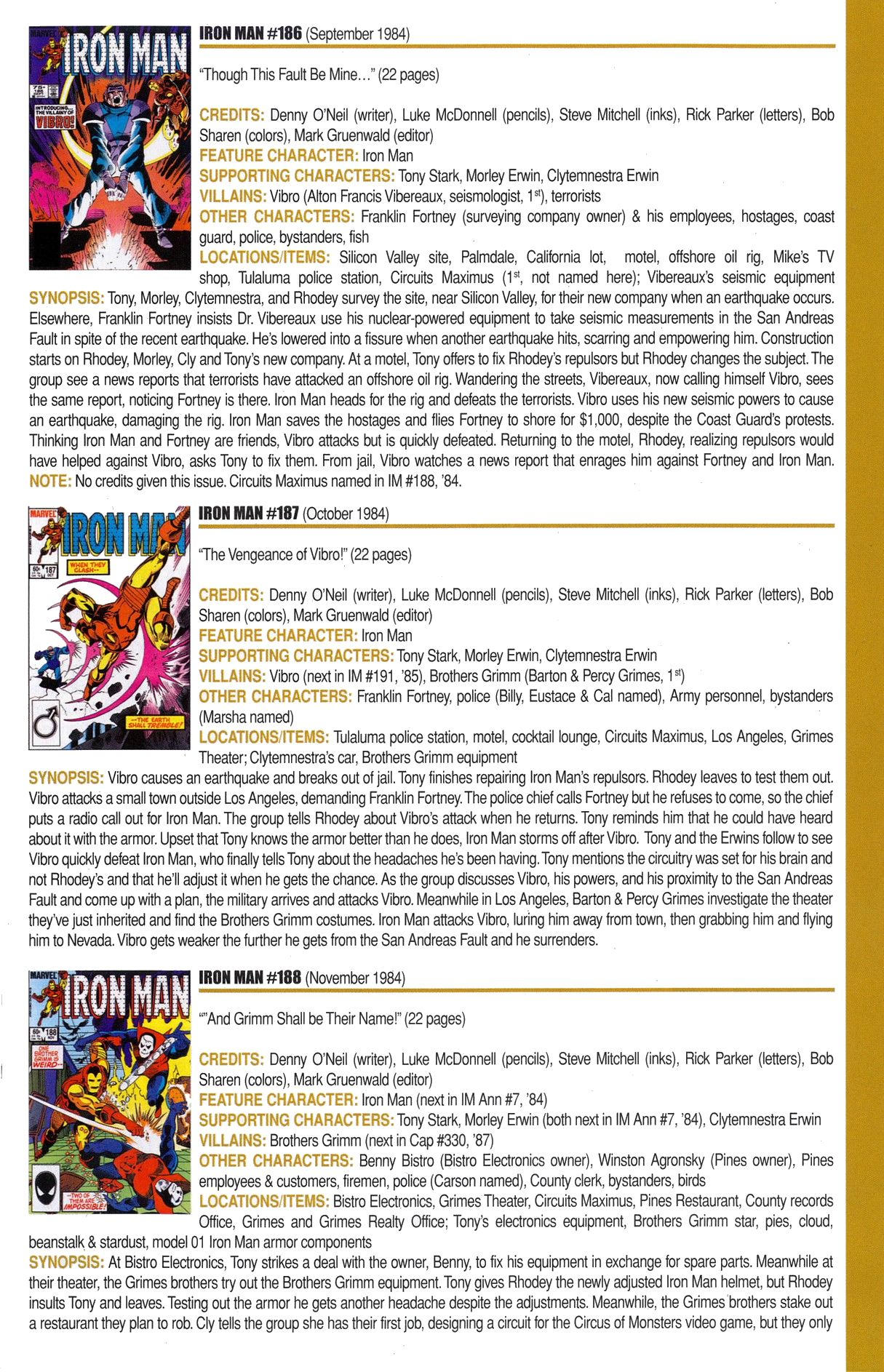 Read online Official Index to the Marvel Universe comic -  Issue #6 - 31