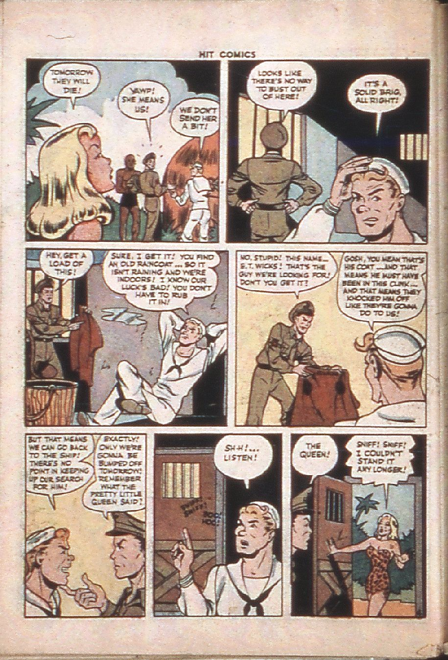 Read online Hit Comics comic -  Issue #37 - 50