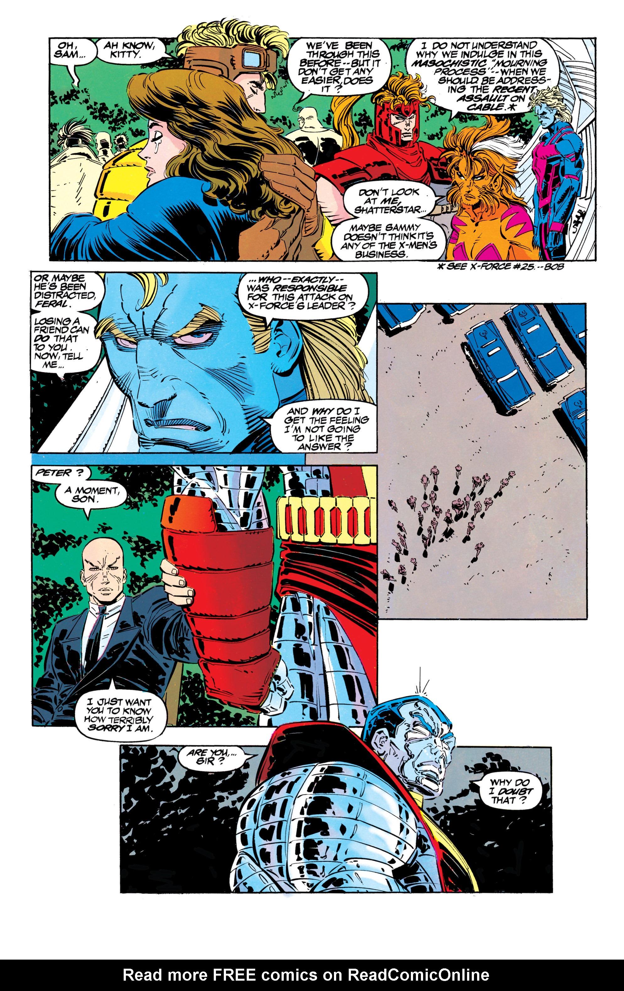 Read online Uncanny X-Men (1963) comic -  Issue #304 - 24