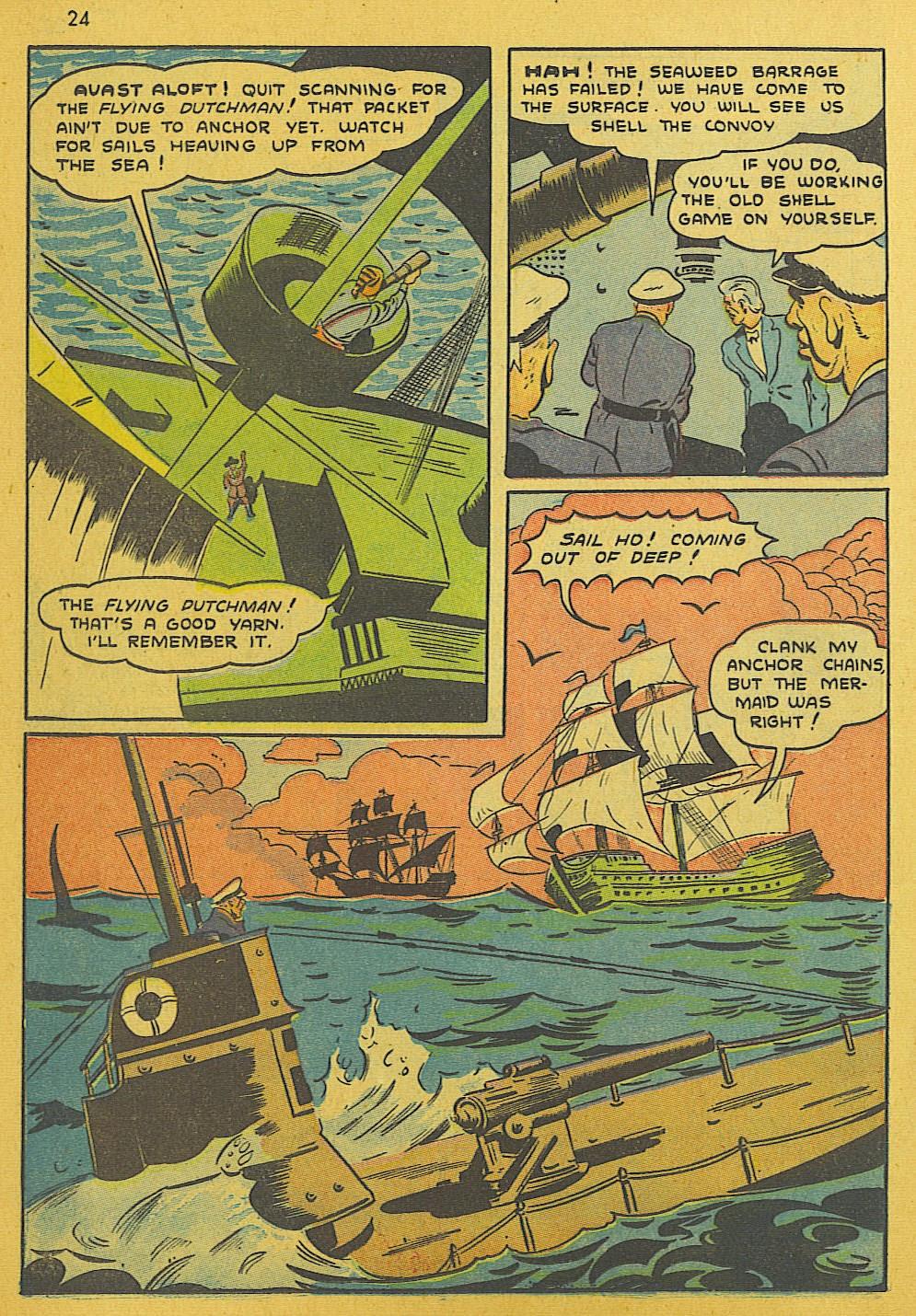 Read online Super-Magician Comics comic -  Issue #10 - 24