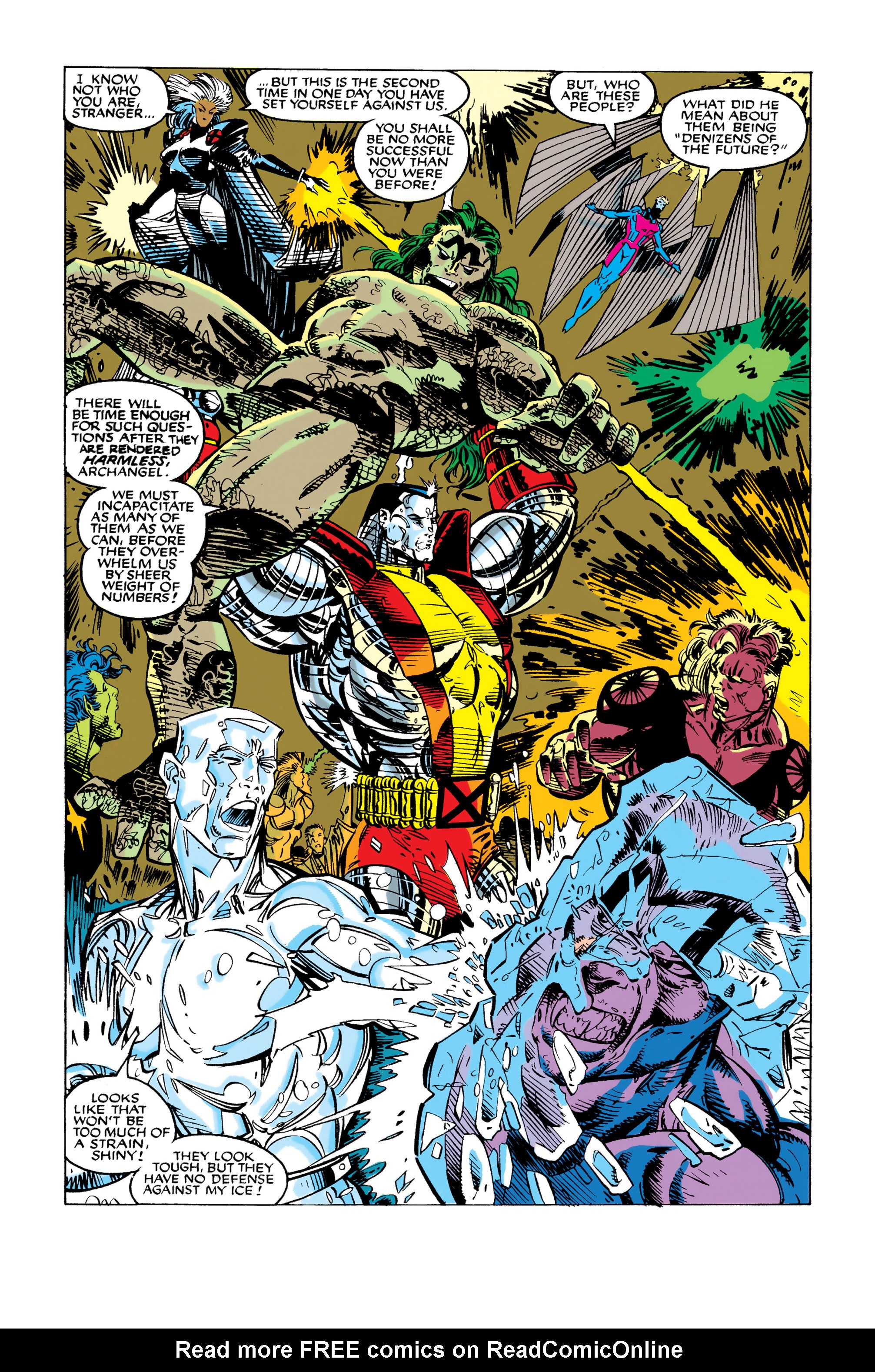 Read online Uncanny X-Men (1963) comic -  Issue #282 - 20