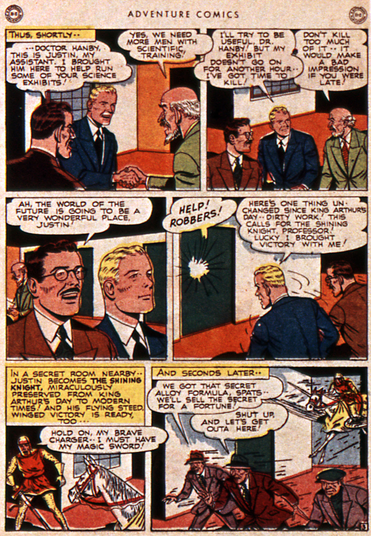 Read online Adventure Comics (1938) comic -  Issue #111 - 34
