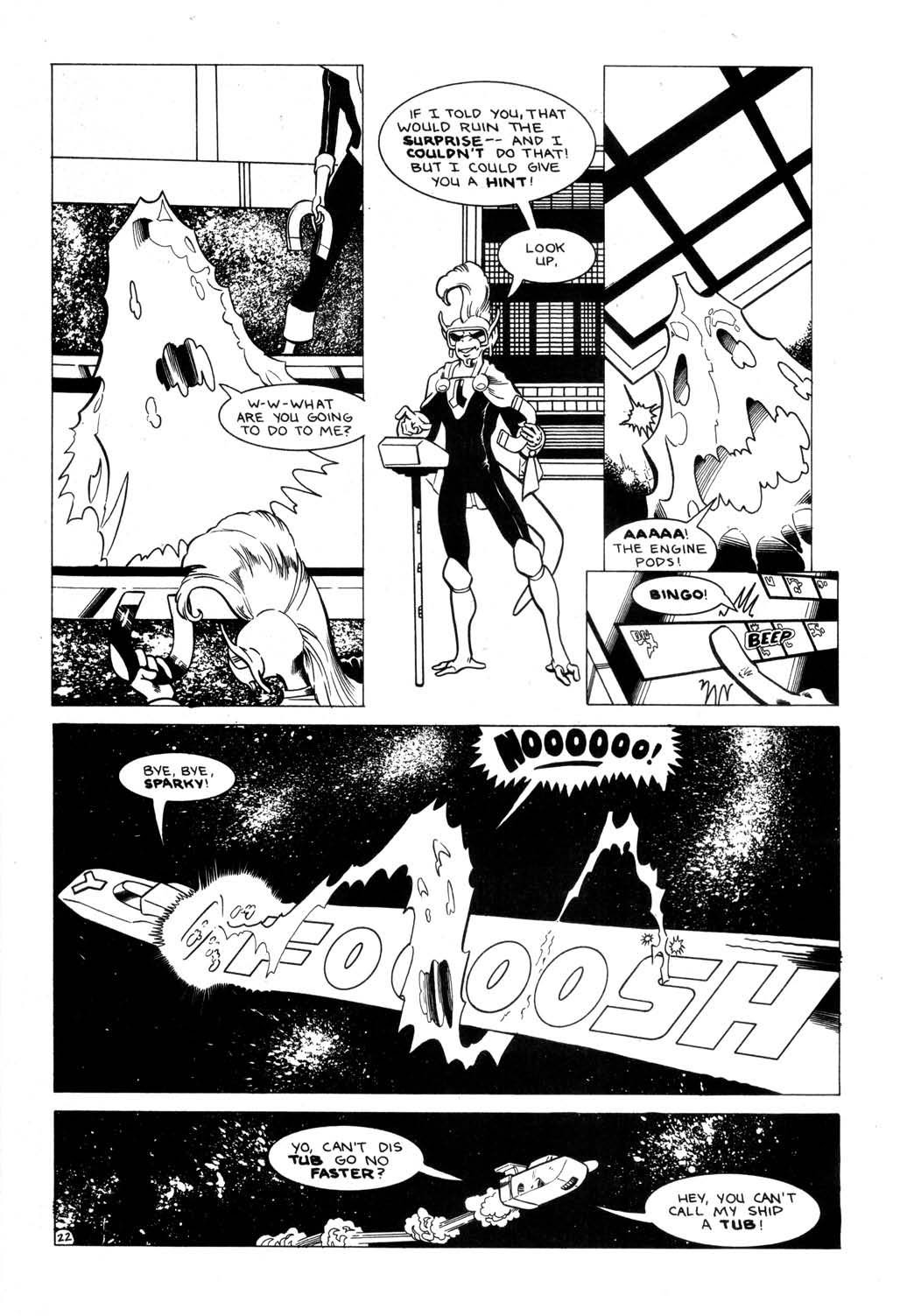 Aristocratic Xtraterrestrial Time-Traveling Thieves issue 7 - Page 24