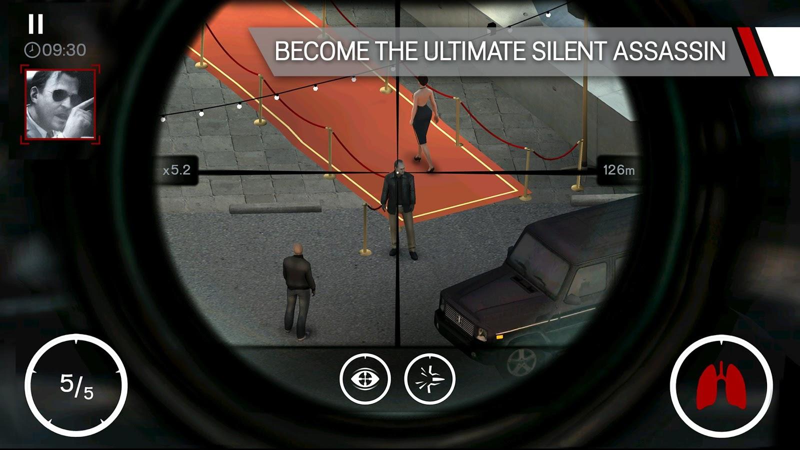 Download Gratis Game Hitman: Sniper apk Mod terbaru 2016
